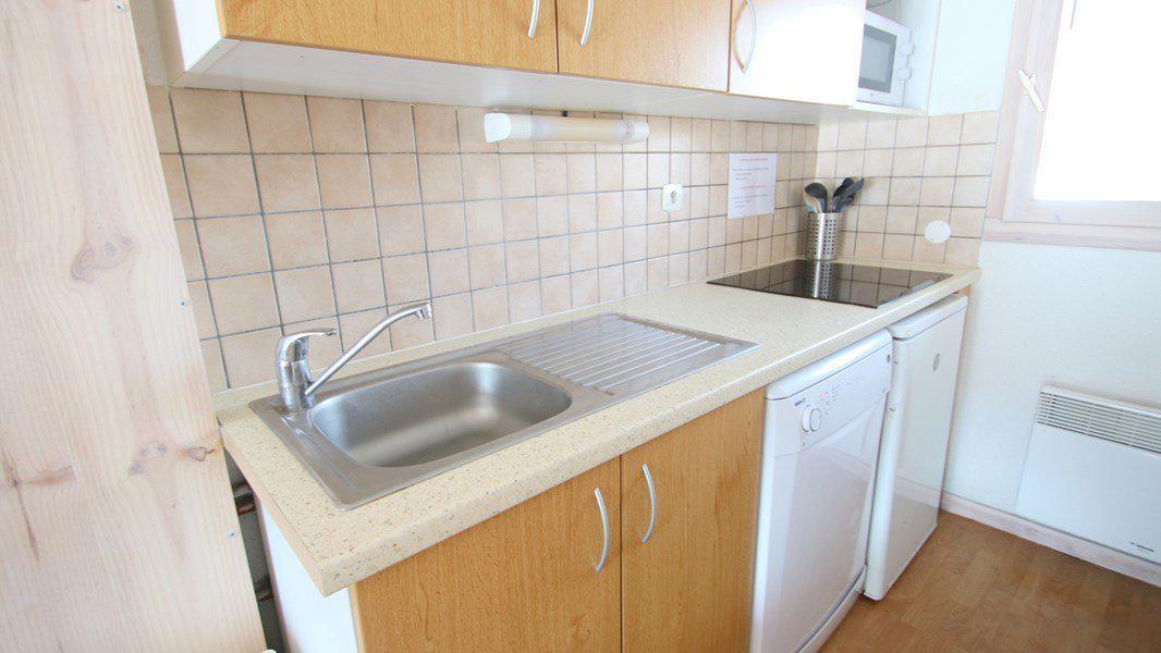 Location au ski Appartement duplex 3 pièces 7 personnes (CH12) - Résidence Parc aux Etoiles - Puy-Saint-Vincent - Kitchenette