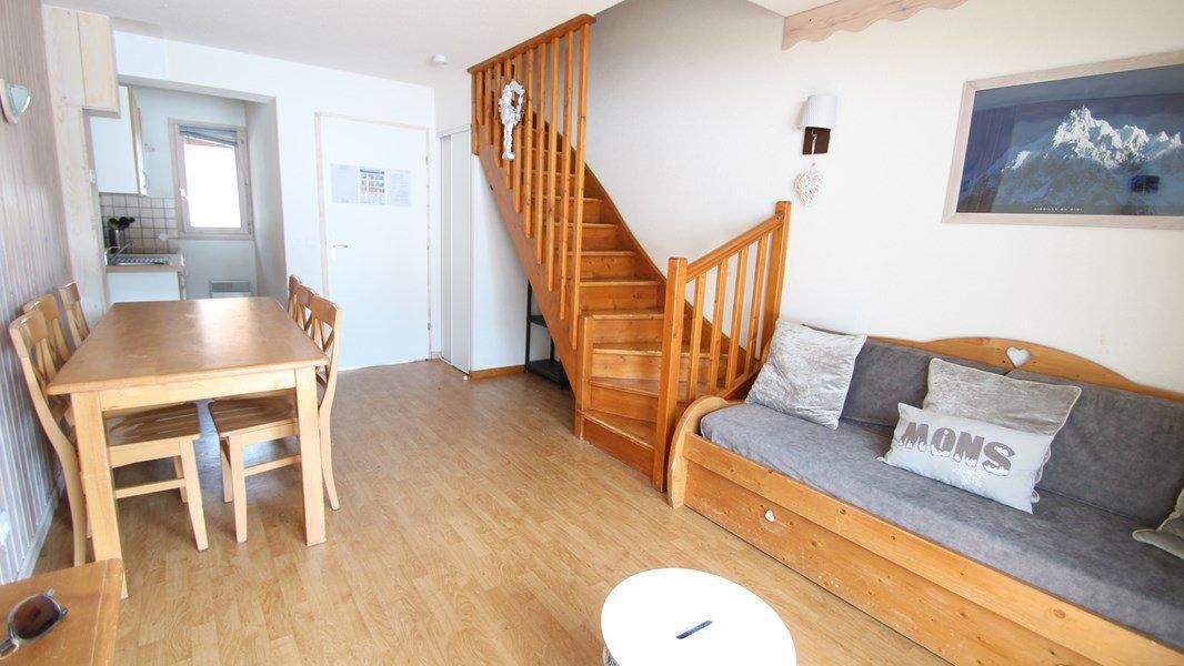 Location au ski Appartement duplex 3 pièces 7 personnes (CH12) - Résidence Parc aux Etoiles - Puy-Saint-Vincent - Séjour