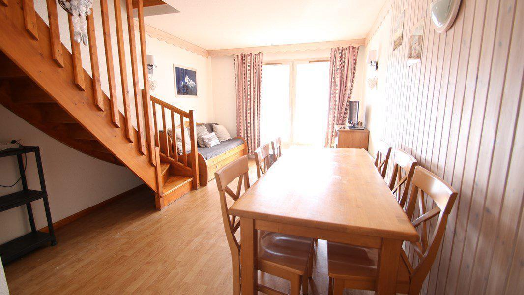 Location au ski Appartement duplex 3 pièces 7 personnes (CH12) - Résidence Parc aux Etoiles - Puy-Saint-Vincent - Table