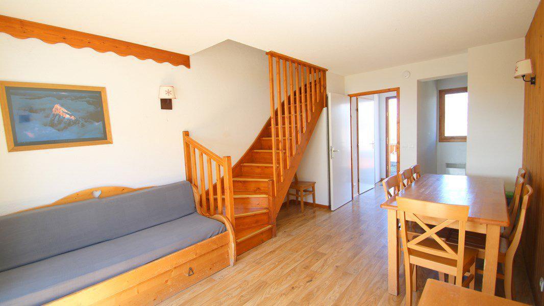 Location au ski Appartement duplex 3 pièces 7 personnes (CH13) - Résidence Parc aux Etoiles - Puy-Saint-Vincent - Escalier