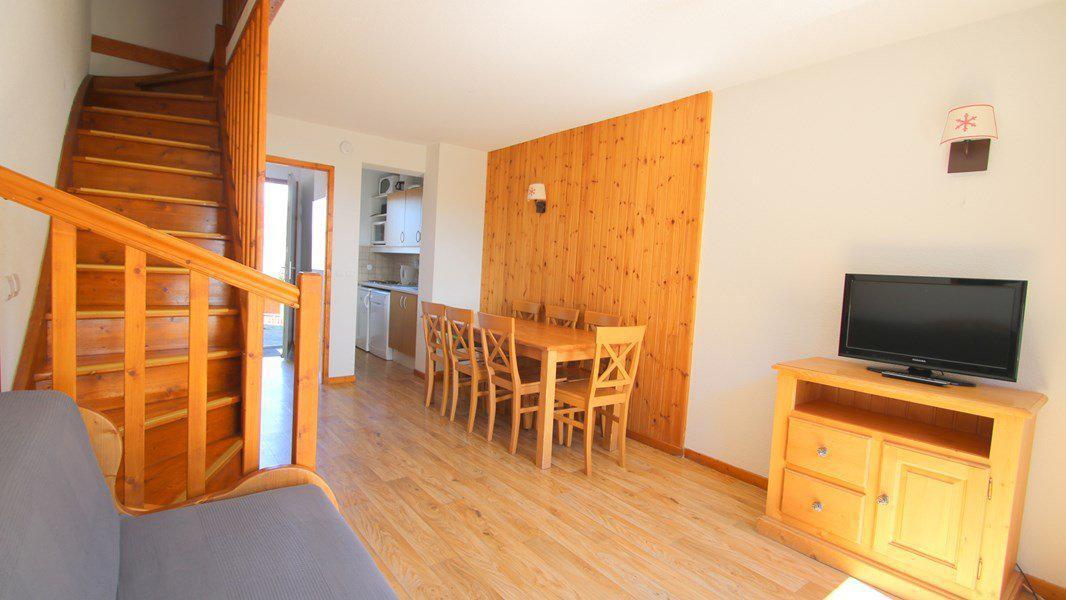 Location au ski Appartement duplex 3 pièces 7 personnes (CH13) - Résidence Parc aux Etoiles - Puy-Saint-Vincent - Séjour