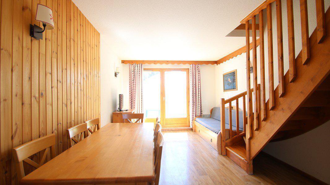 Location au ski Appartement duplex 3 pièces 7 personnes (CH13) - Résidence Parc aux Etoiles - Puy-Saint-Vincent - Table