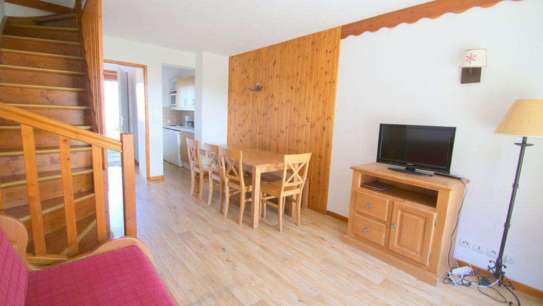 Location au ski Appartement duplex 3 pièces 7 personnes (CH15) - Résidence Parc aux Etoiles - Puy-Saint-Vincent - Banquette-lit