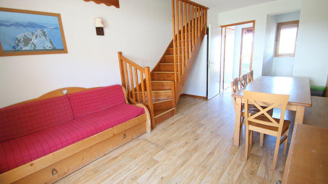 Location au ski Appartement duplex 3 pièces 7 personnes (CH15) - Résidence Parc aux Etoiles - Puy-Saint-Vincent - Banquette-lit tiroir