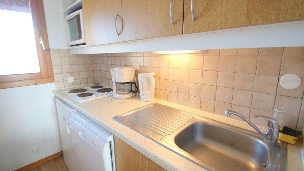 Location au ski Appartement duplex 3 pièces 7 personnes (CH15) - Résidence Parc aux Etoiles - Puy-Saint-Vincent - Kitchenette