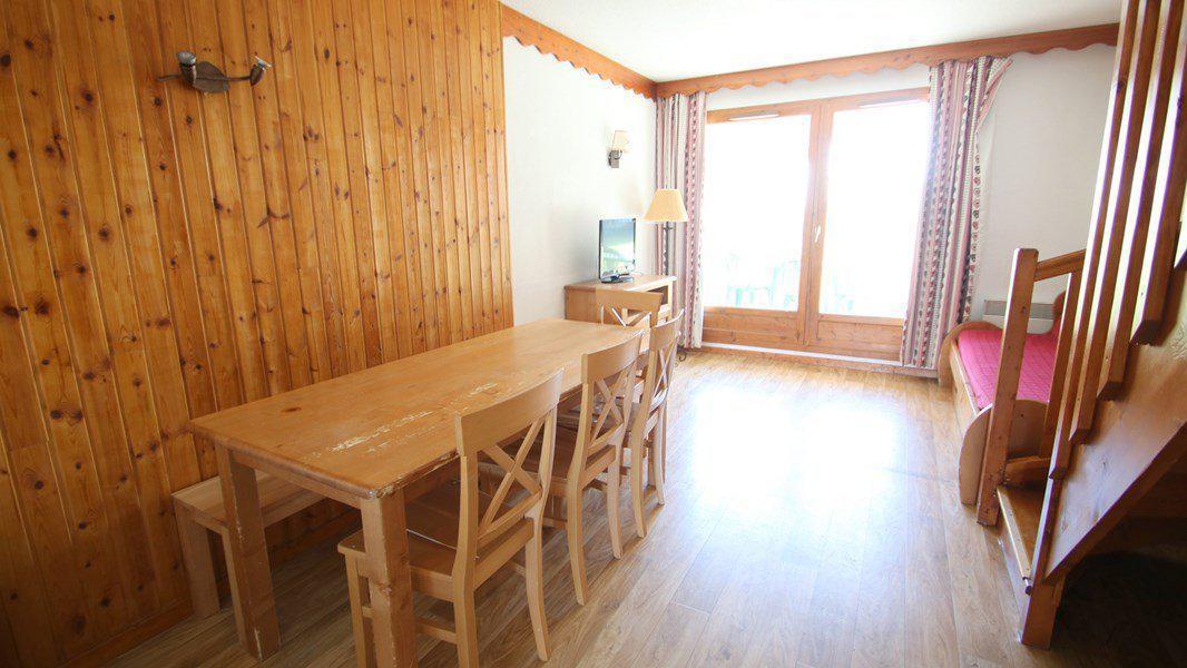 Location au ski Appartement duplex 3 pièces 7 personnes (CH15) - Résidence Parc aux Etoiles - Puy-Saint-Vincent - Séjour