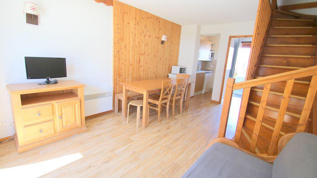 Location au ski Appartement duplex 3 pièces 7 personnes (CH17) - Résidence Parc aux Etoiles - Puy-Saint-Vincent - Banquette-lit