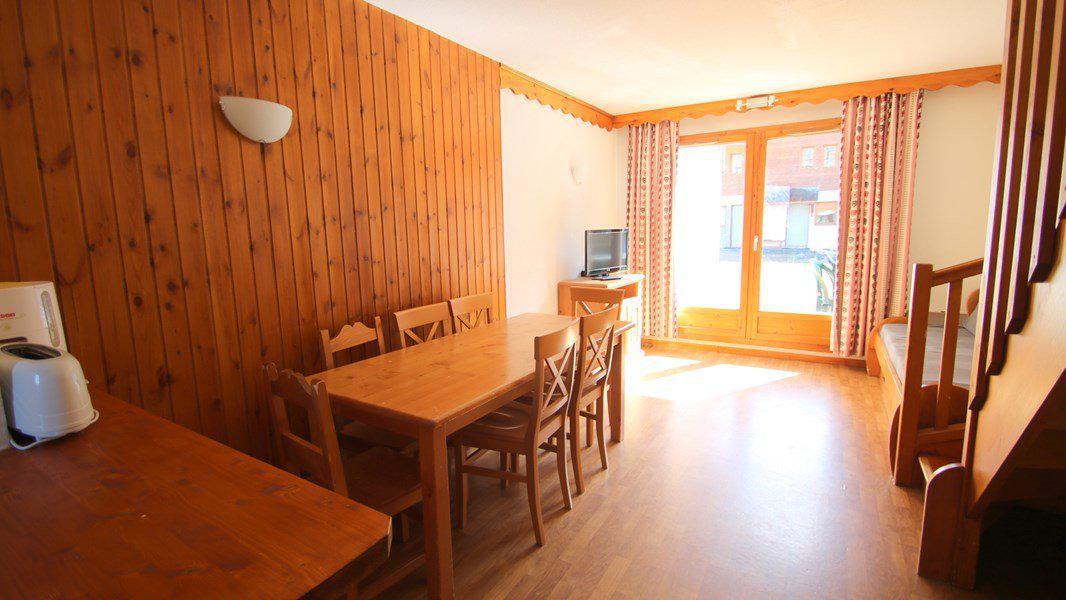 Location au ski Appartement duplex 3 pièces 7 personnes (CH18) - Résidence Parc aux Etoiles - Puy-Saint-Vincent - Séjour