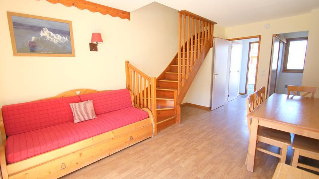 Location au ski Appartement duplex 3 pièces 7 personnes (CH19) - Résidence Parc aux Etoiles - Puy-Saint-Vincent - Banquette