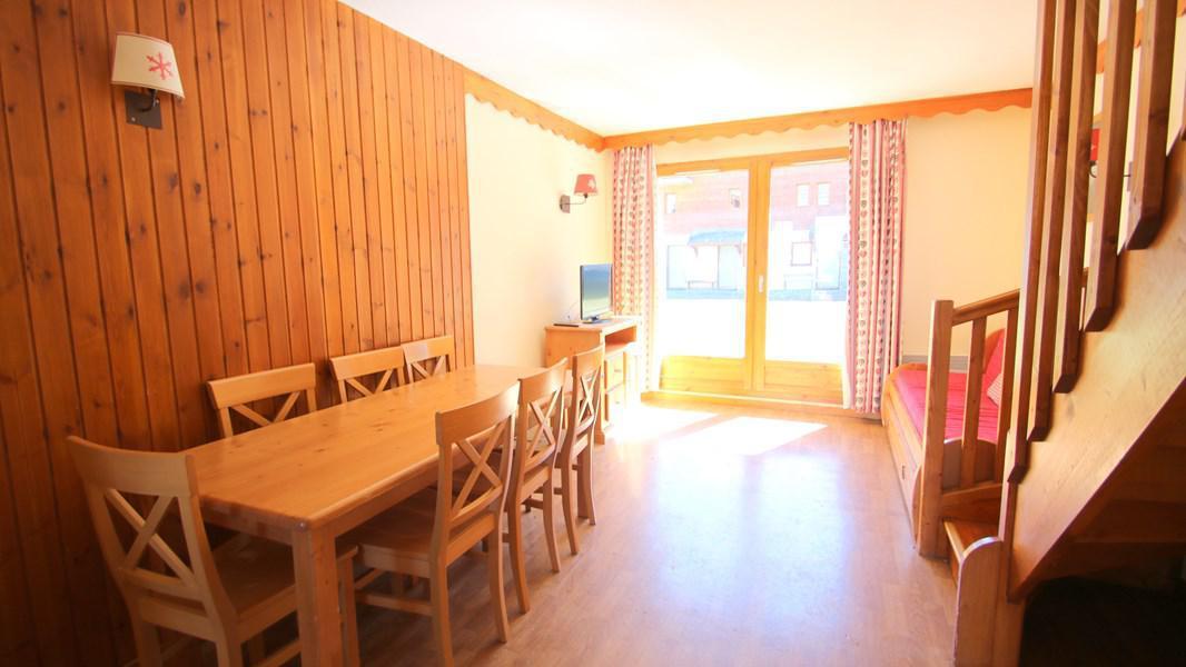 Location au ski Appartement duplex 3 pièces 7 personnes (CH19) - Résidence Parc aux Etoiles - Puy-Saint-Vincent - Banquette-lit