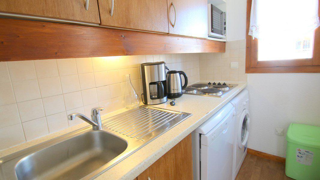 Location au ski Appartement duplex 3 pièces 7 personnes (CH22) - Résidence Parc aux Etoiles - Puy-Saint-Vincent - Kitchenette