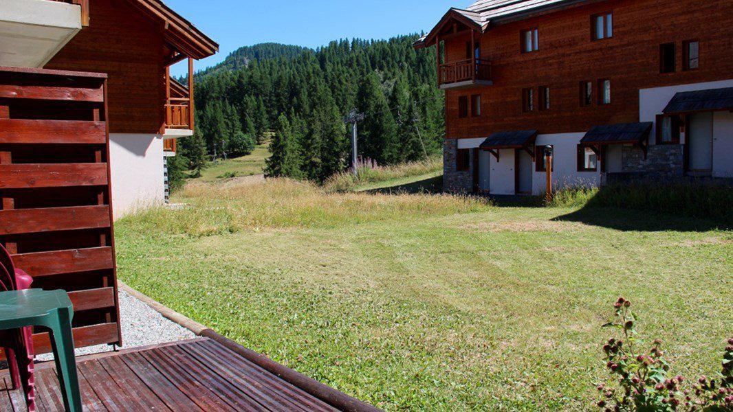Location au ski Appartement duplex 3 pièces 7 personnes (CH22) - Résidence Parc aux Etoiles - Puy-Saint-Vincent - Terrasse