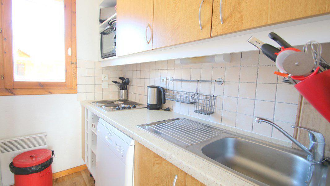 Location au ski Appartement triplex 5 pièces 8 personnes (CH23) - Résidence Parc aux Etoiles - Puy-Saint-Vincent - Kitchenette