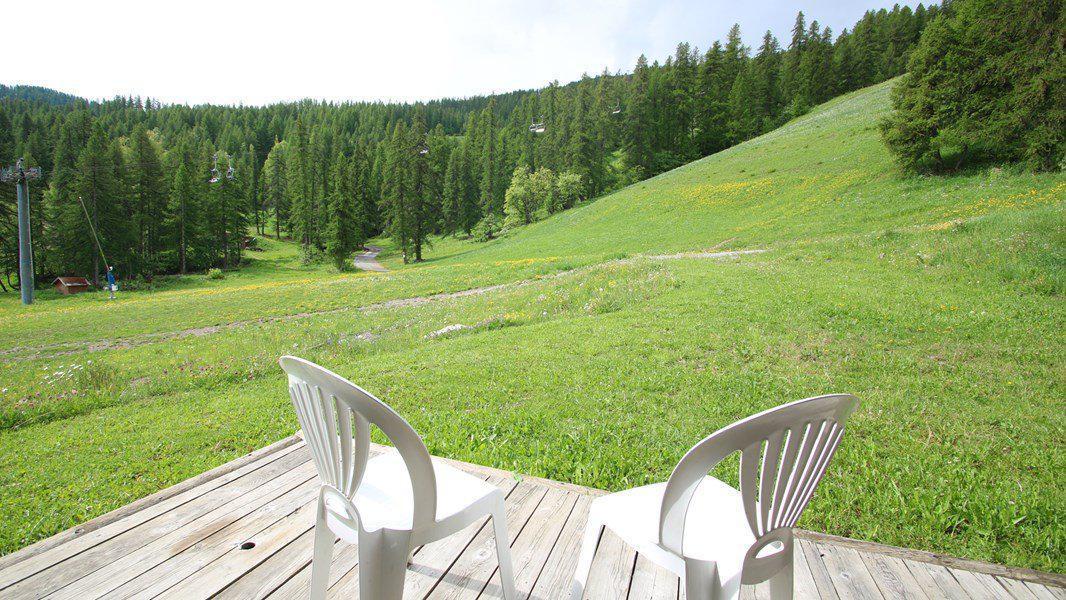 Location au ski Appartement triplex 5 pièces 8 personnes (CH23) - Résidence Parc aux Etoiles - Puy-Saint-Vincent - Terrasse