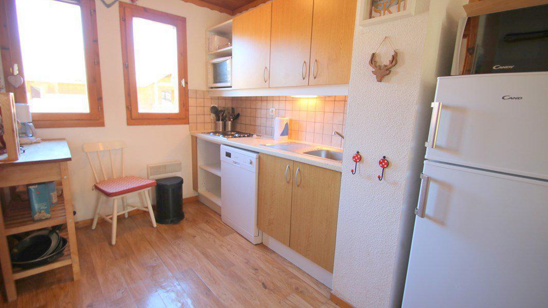 Location au ski Appartement triplex 5 pièces 8 personnes (CH25) - Résidence Parc aux Etoiles - Puy-Saint-Vincent - Kitchenette