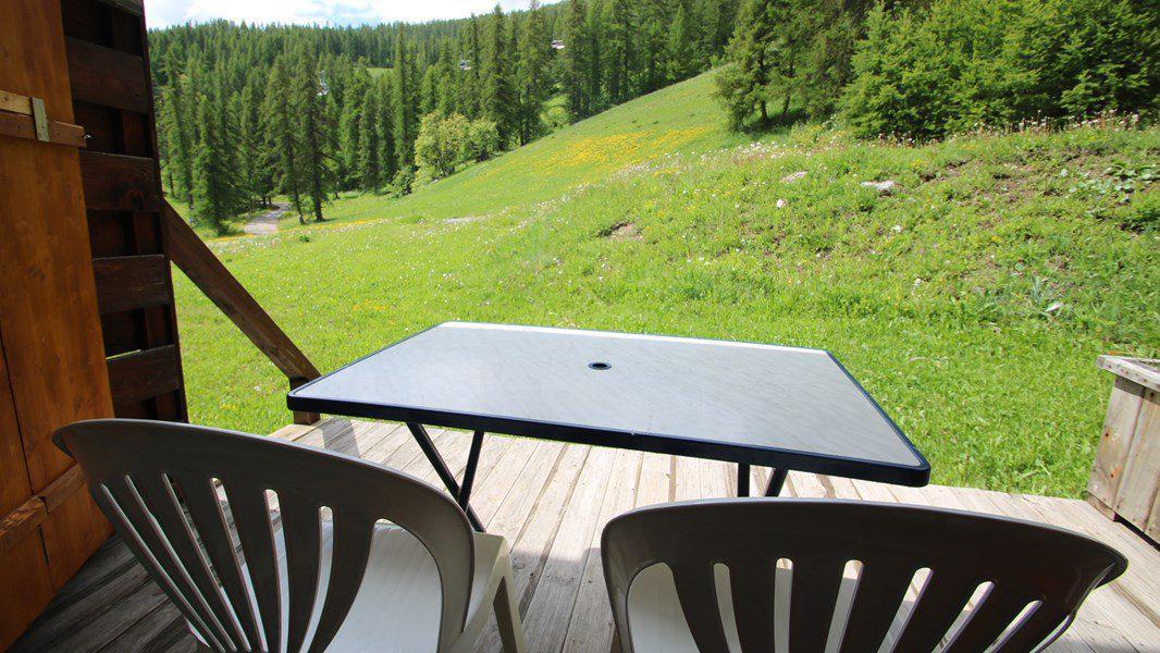 Location au ski Appartement triplex 5 pièces 8 personnes (CH26) - Résidence Parc aux Etoiles - Puy-Saint-Vincent - Table