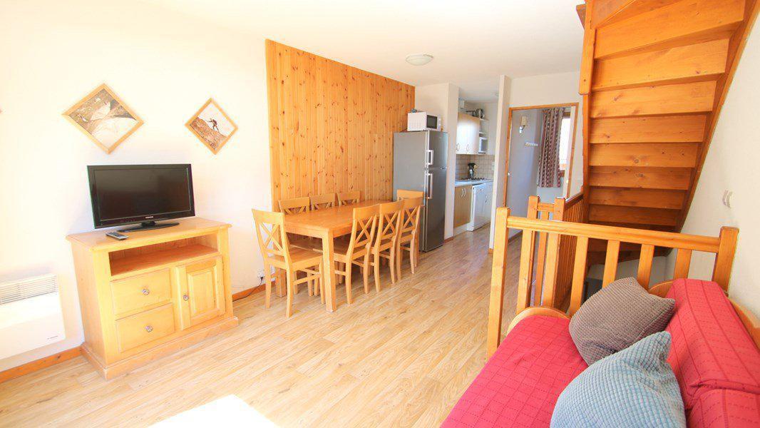 Location au ski Appartement triplex 5 pièces 8 personnes (CH27) - Résidence Parc aux Etoiles - Puy-Saint-Vincent - Séjour