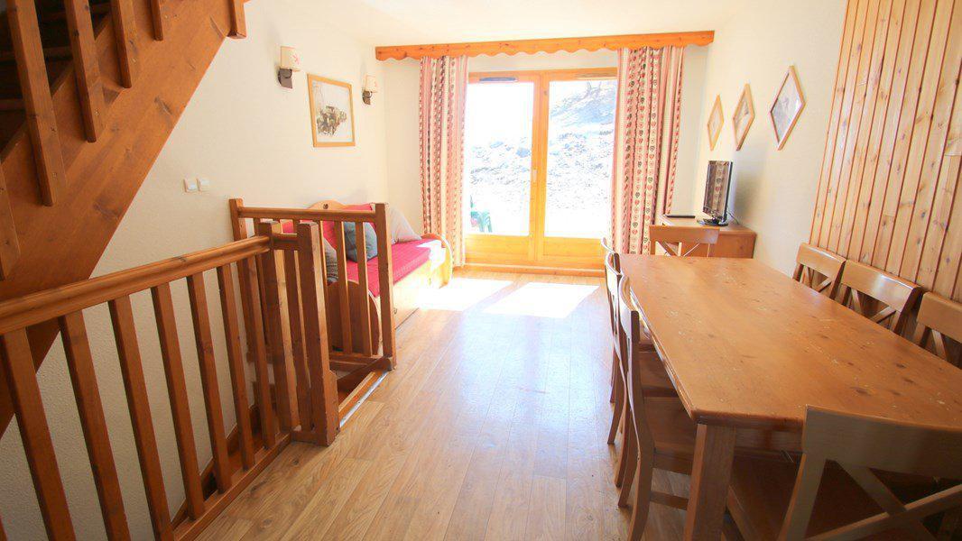 Location au ski Appartement triplex 5 pièces 8 personnes (CH27) - Résidence Parc aux Etoiles - Puy-Saint-Vincent - Table