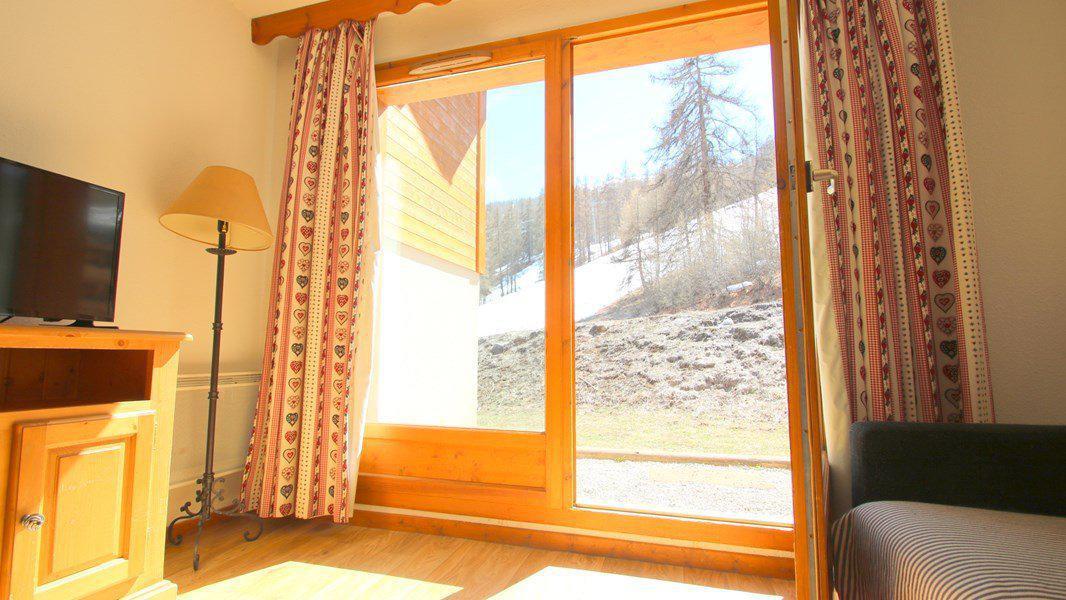 Location au ski Appartement triplex 5 pièces 8 personnes (CH28) - Résidence Parc aux Etoiles - Puy-Saint-Vincent - Banquette-lit