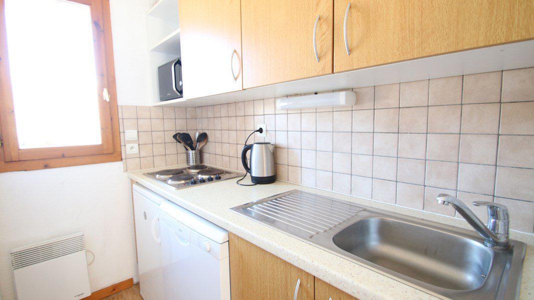 Location au ski Appartement triplex 5 pièces 8 personnes (CH28) - Résidence Parc aux Etoiles - Puy-Saint-Vincent - Kitchenette