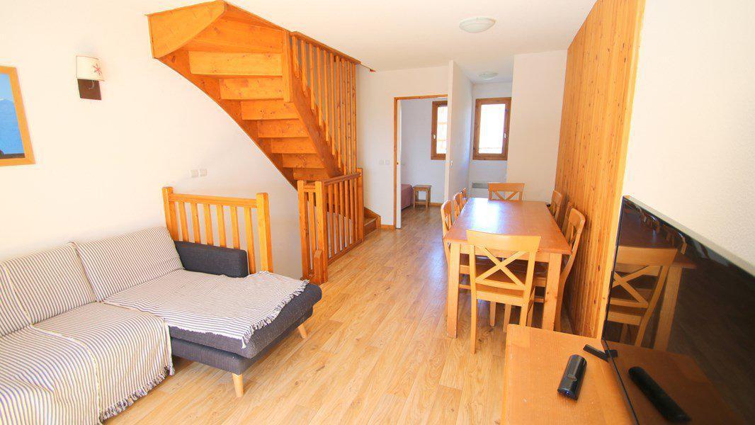 Location au ski Appartement triplex 5 pièces 8 personnes (CH28) - Résidence Parc aux Etoiles - Puy-Saint-Vincent - Séjour