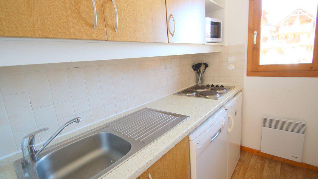 Location au ski Appartement triplex 5 pièces 8 personnes (CH33) - Résidence Parc aux Etoiles - Puy-Saint-Vincent - Kitchenette