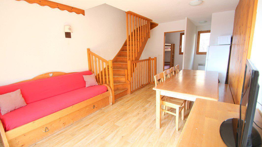 Location au ski Appartement triplex 5 pièces 8 personnes (CH38) - Résidence Parc aux Etoiles - Puy-Saint-Vincent - Séjour