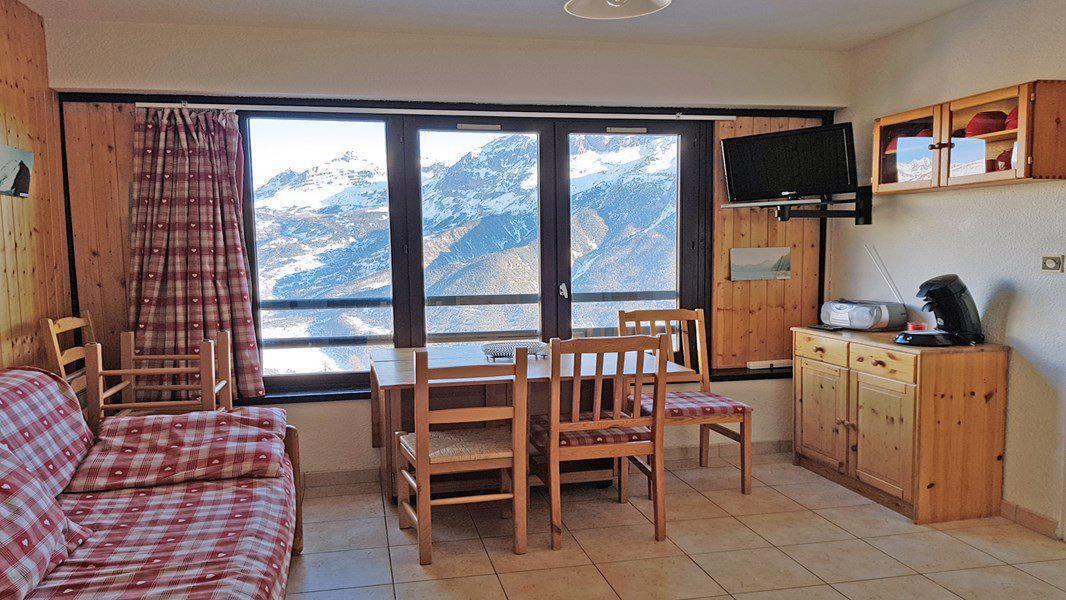 Location au ski Appartement 2 pièces coin montagne 5 personnes (402) - Résidence Pendine 2 - Puy-Saint-Vincent - Séjour