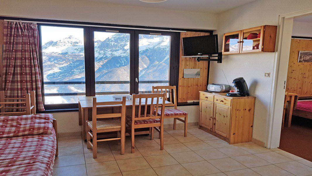 Location au ski Appartement 2 pièces coin montagne 5 personnes (402) - Résidence Pendine 2 - Puy-Saint-Vincent - Table