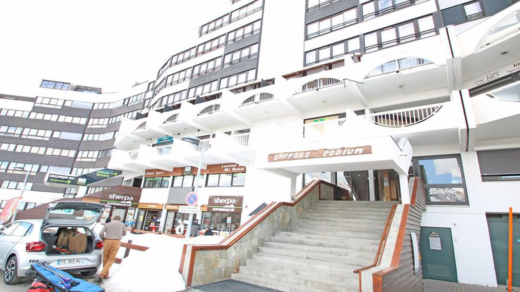 Location au ski Résidence Sapporo - Puy-Saint-Vincent - Extérieur hiver
