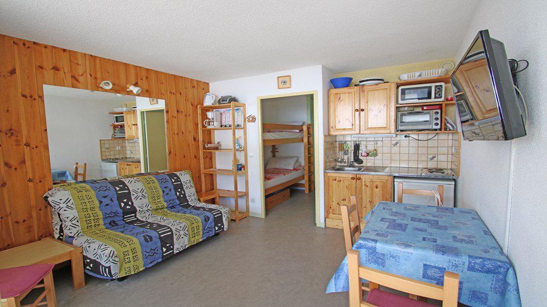 Location au ski Studio coin montagne 4 personnes (408) - Résidence Sapporo - Puy-Saint-Vincent - Banquette