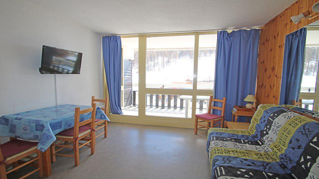 Location au ski Studio coin montagne 4 personnes (408) - Résidence Sapporo - Puy-Saint-Vincent - Canapé-bz