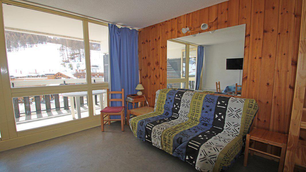 Location au ski Studio coin montagne 4 personnes (408) - Résidence Sapporo - Puy-Saint-Vincent - Séjour