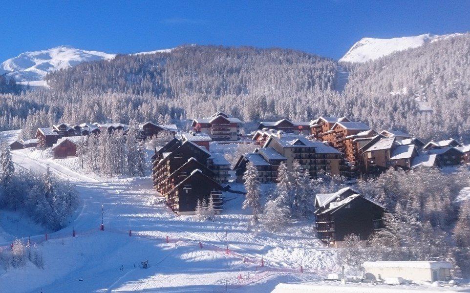 Wakacje w górach Studio z alkową 4 osoby (206) - Résidence Serac - Puy-Saint-Vincent - Zima na zewnątrz