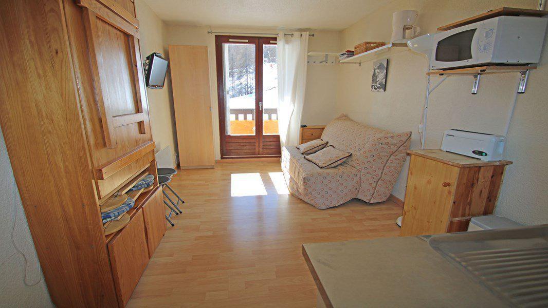 Location au ski Studio coin montagne 4 personnes (206) - Résidence Serac - Puy-Saint-Vincent - Séjour