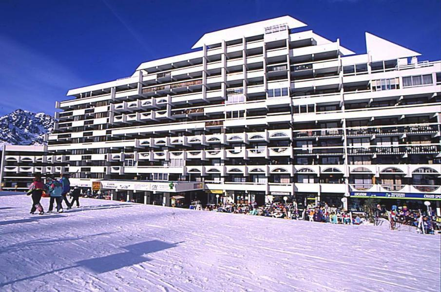 Location au ski Résidences Puy St Vincent 1600 - Puy-Saint-Vincent - Extérieur hiver