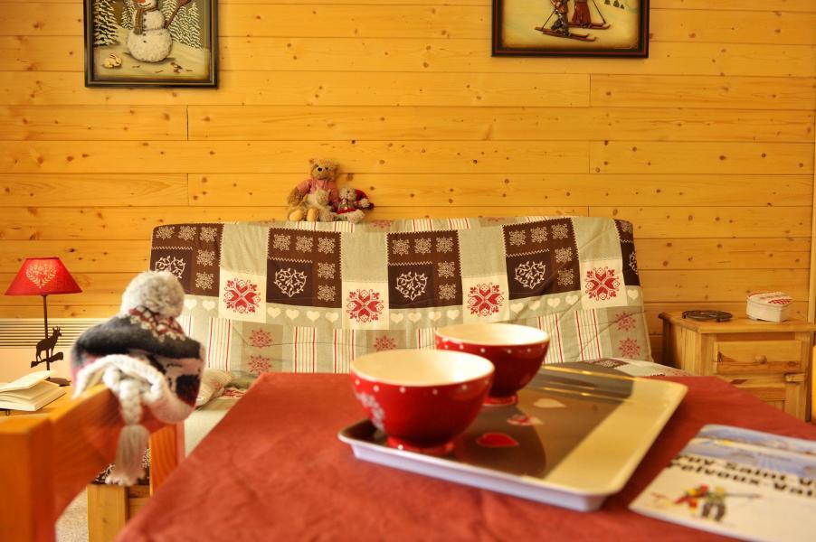 Location au ski Résidences Puy St Vincent 1600 - Puy-Saint-Vincent - Canapé-lit