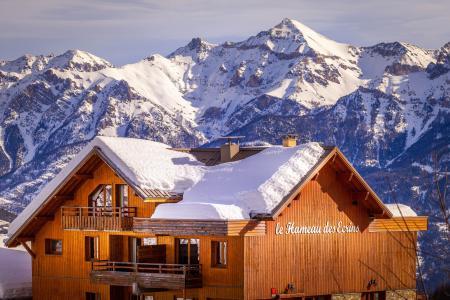 Location Puy-Saint-Vincent : La Résidence Hameau des Ecrins hiver