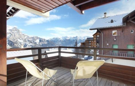 Location au ski Les Chalets Puy Saint Vincent - Puy-Saint-Vincent - Balcon