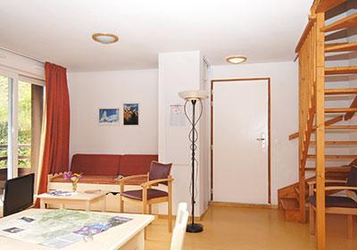 Location au ski Les Chalets Puy Saint Vincent - Puy-Saint-Vincent - Table
