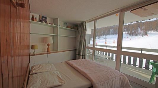 Rent in ski resort 2 room duplex apartment sleeping corner 6 people (806) - Résidence Cortina 1 - Puy-Saint-Vincent - Double bed