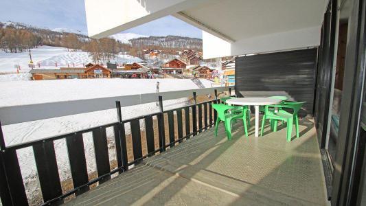 Rent in ski resort 2 room duplex apartment sleeping corner 6 people (806) - Résidence Cortina 1 - Puy-Saint-Vincent - Terrace