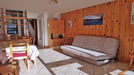 Rent in ski resort 3 room apartment 8 people (1002) - Résidence Cortina 1 - Puy-Saint-Vincent - Sofa bed