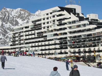 Location au ski Residence Cortina - Puy-Saint-Vincent - Extérieur hiver
