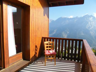 Rent in ski resort 2 room apartment cabin 4 people (A46) - Résidence des Gentianes - Puy-Saint-Vincent - Balcony
