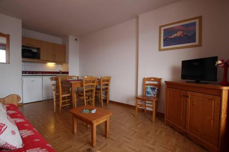 Rent in ski resort 2 room apartment sleeping corner 6 people (B24) - Résidence des Gentianes - Puy-Saint-Vincent - Kitchenette