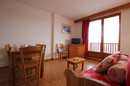 Rent in ski resort 2 room apartment sleeping corner 6 people (B24) - Résidence des Gentianes - Puy-Saint-Vincent - Living room