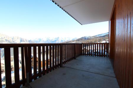 Rent in ski resort 2 room apartment sleeping corner 6 people (D25) - Résidence des Gentianes - Puy-Saint-Vincent - Balcony