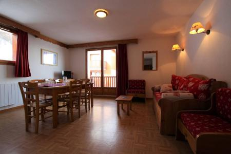 Rent in ski resort 3 room apartment cabin 8 people (B33) - Résidence des Gentianes - Puy-Saint-Vincent - Pull-out sofa