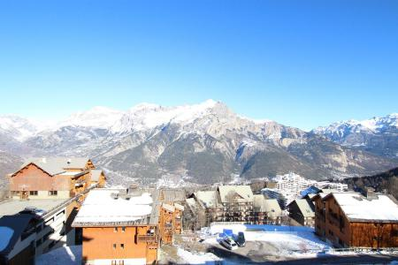 Rent in ski resort 2 room apartment sleeping corner 6 people (D25) - Résidence des Gentianes - Puy-Saint-Vincent - Winter outside